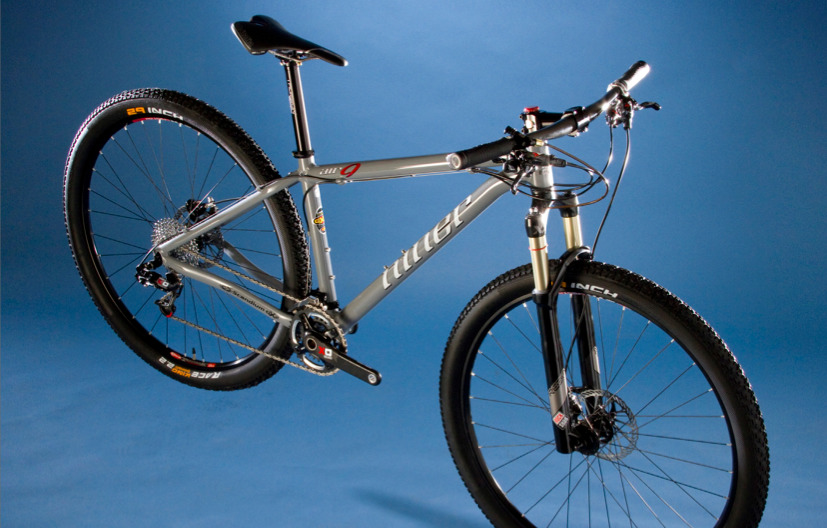 main view of the niner air 9 aircraft grey limited edition frame only