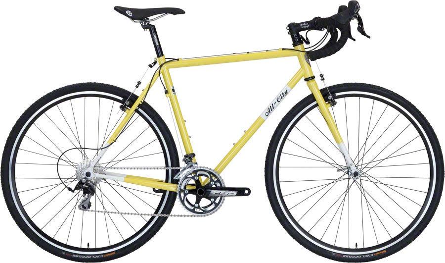 All City Macho Man Complete Bike Citron In Tree Fort Bikes