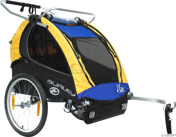 burley d 39 lite child trailer 2008 in tree fort bikes trailers. Black Bedroom Furniture Sets. Home Design Ideas