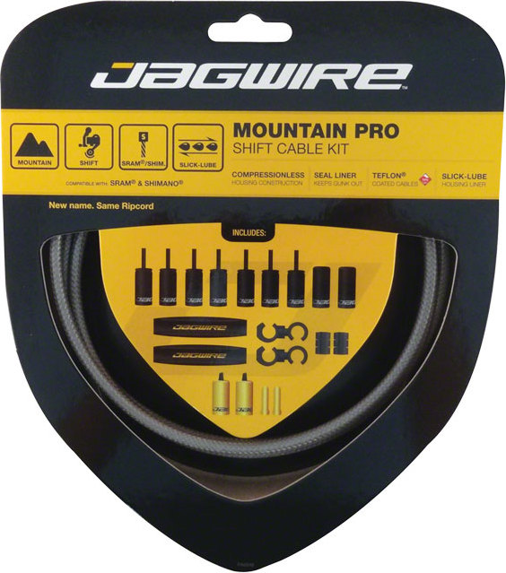 Jagwire Mountain Pro Derailleur Cable Kit In Tree Fort Bikes