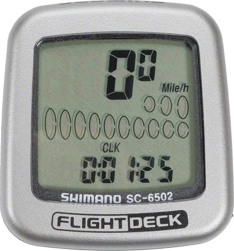 Shimano Flight Deck Sc6502 Computer Head In Tree Fort
