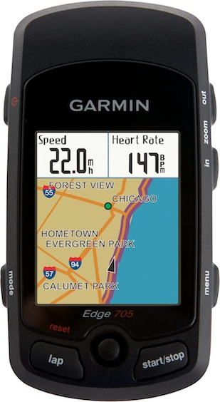 Garmin Edge 705 with Heart Rate in Tree Fort Bikes Fitness Computers