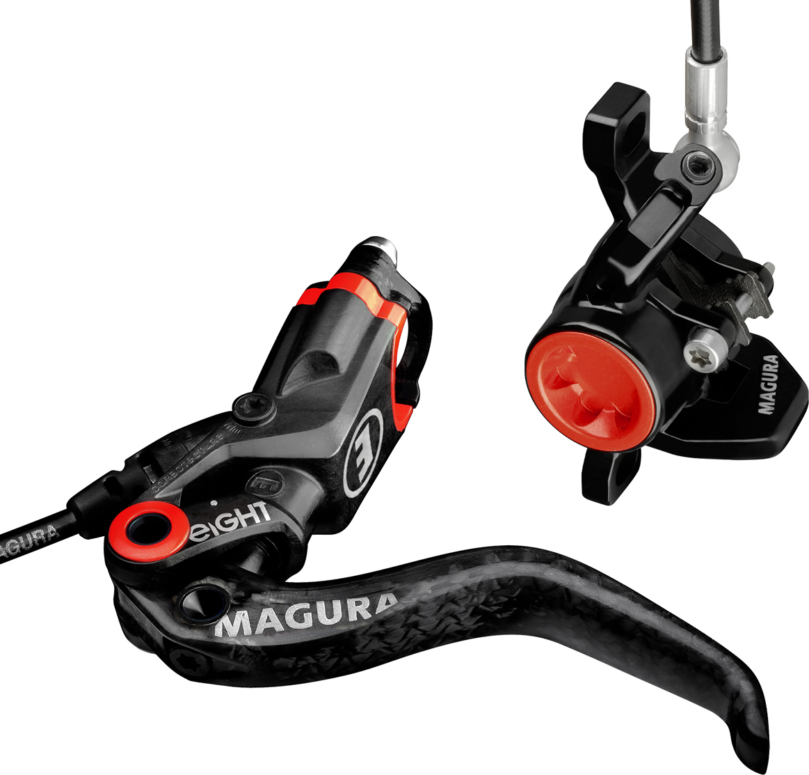 Magura MT8 Carbon Disc Brake Black 1650mm Hose Front or ...