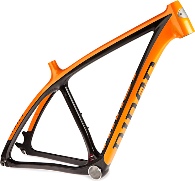 main view of the niner air 9 carbon frame wbio centric bb