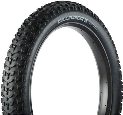 45nrth dillinger 5 26 x 4 8 studded fatbike tire 120tpi folding in tree fort bikes fat bike tires. Black Bedroom Furniture Sets. Home Design Ideas
