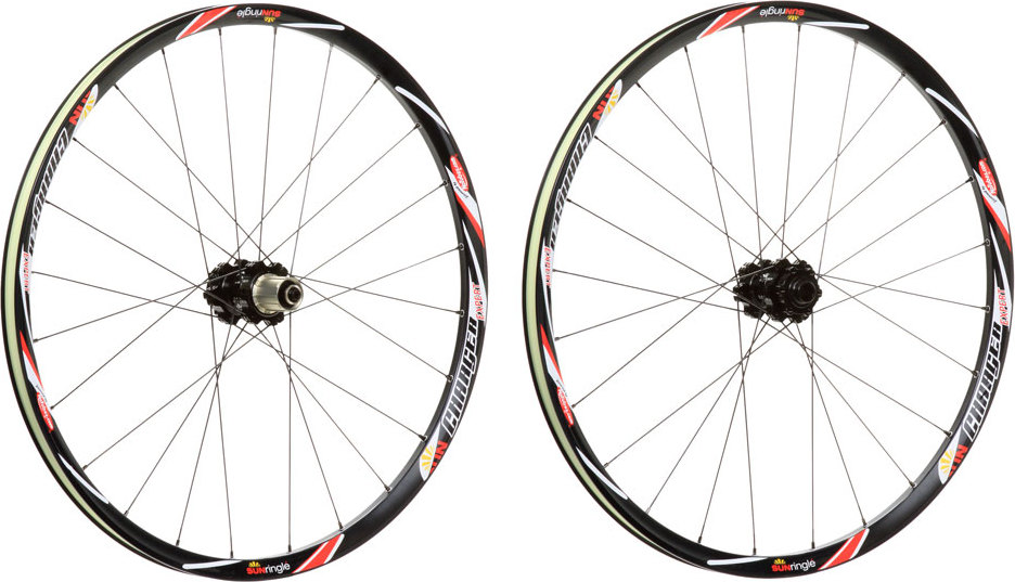 Main view of the sun ringle 27 5 650b charger expert wheelset 9 15