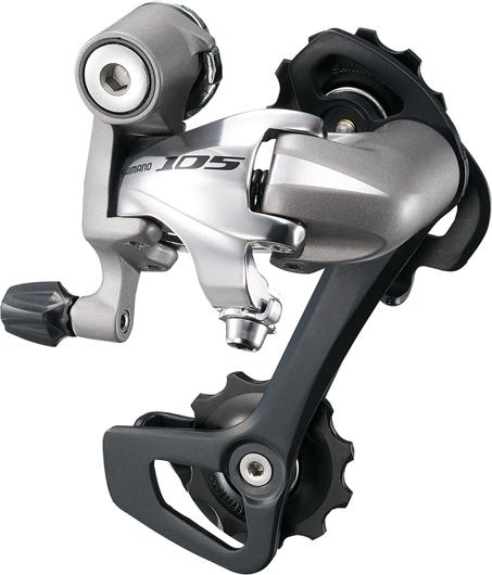 Shimano 105 5701 10-Speed Rear Derailleur in Tree Fort Bikes Rear Derailleurs