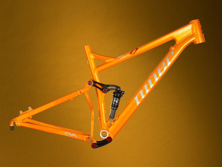 main view of the niner jet 9 frame